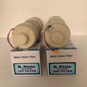 New BioNsupreme Alkaline Ionizer Machine – Set of Filter (1st & 2nd Filters)